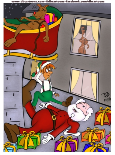 Santa-Accident